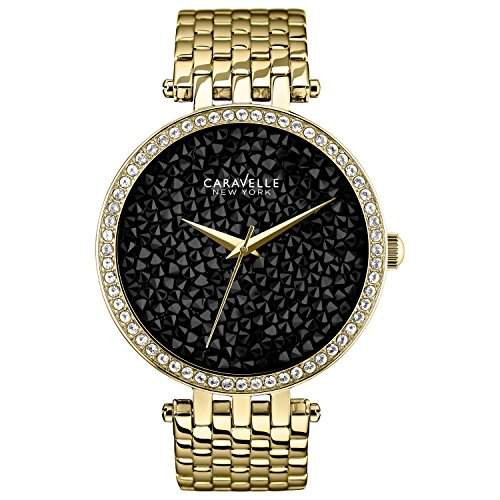 Caravelle New York Damen-Armbanduhr Analog Quarz Edelstahl 44L121