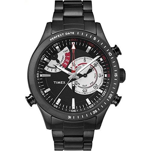 Uhr Chronograph Herren Timex T Series Chrono Timer Sportliche Cod TW2P72800