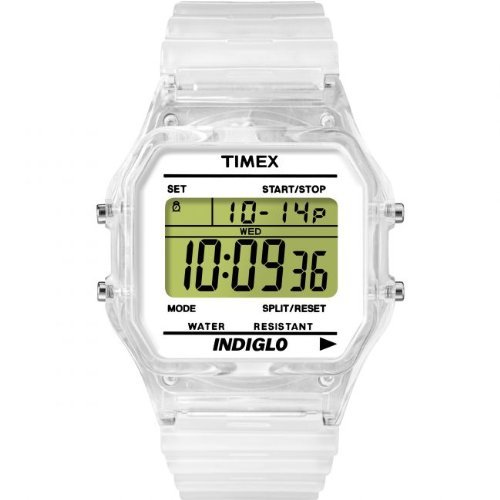 ORIGINAL TIMEX Uhren TIMEX 80 TRANSPARENT Unisex T2N803