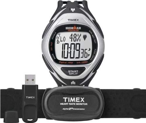 Timex Sport Herren-Armbanduhr XL Race Trainer Digital Kautschuk T5K571