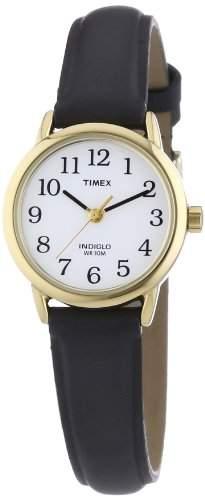 Timex Damen-Armbanduhr Weiss Analog Leder T20433D7
