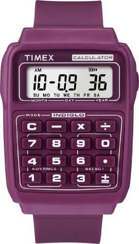Timex Unisex-Armbanduhr Digital Plastik T2N189