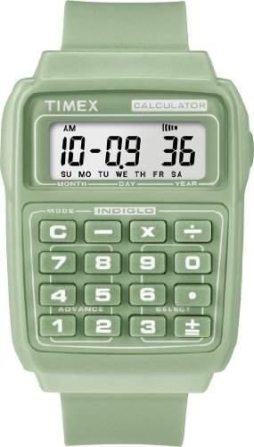 Timex Unisex-Armbanduhr Digital Plastik T2N239