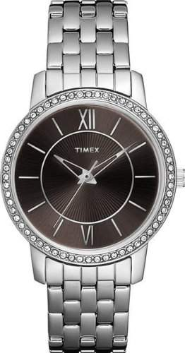 Timex Damen-Armbanduhr Analog T2N372PF