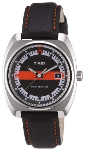 Timex Damen-Armbanduhr Analog Leder T2N585ZF