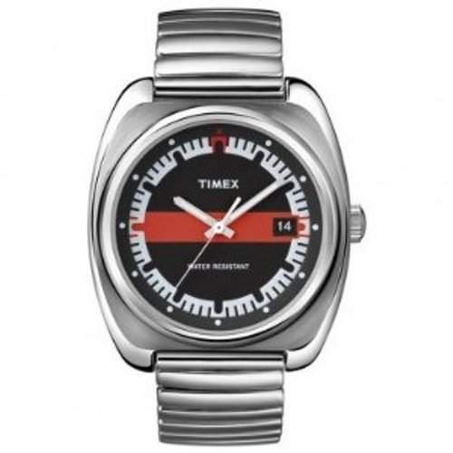 Timex Unisex-Armbanduhr Originals Analog Edelstahl T2N587