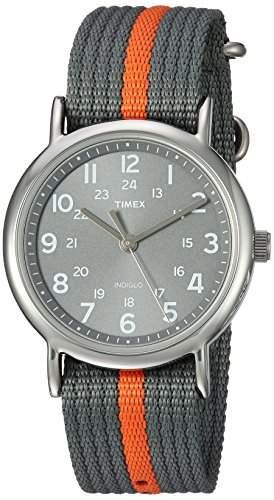 Timex Unisex-Armbanduhr Weekender Analog Quarz Nylon T2N649