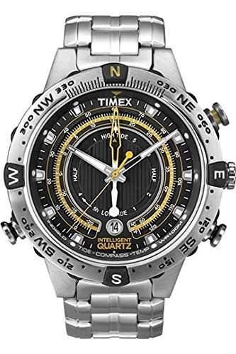 Timex Herren-Armbanduhr Tide Temp Compass Analog Quarz T2N738