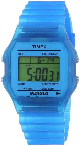 Timex Unisex-Armbanduhr Digital Quarz Resin T2N804PF