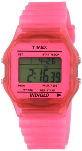 Timex Damen-Armbanduhr Digital Quarz Resin T2N805PF