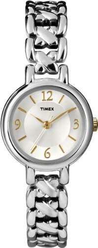 Timex Damen-Armbanduhr XS Analog Messing T2N823