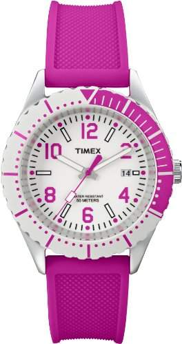 Timex Quarzuhr Woman Classic Colour Silicon pink 41 mm