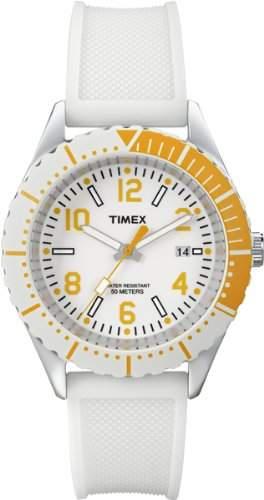 Timex Unisex-Armbanduhr Style Analog Quarz Silikon T2P007