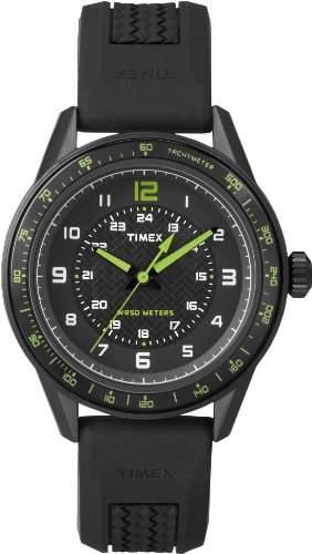 Timex Herren-Armbanduhr Kaléidoscope Analog Quarz Silikon T2P024D7