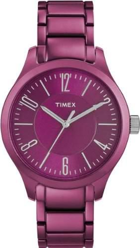 Timex Classic Damen-Armbanduhr Analog Rosa T2P110AU