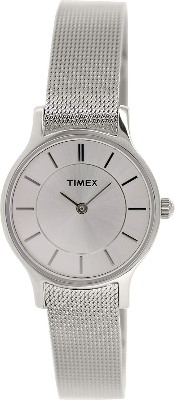 Timex Damen-Armbanduhr XS Style Analog Quarz verschiedene Materialien T2P167