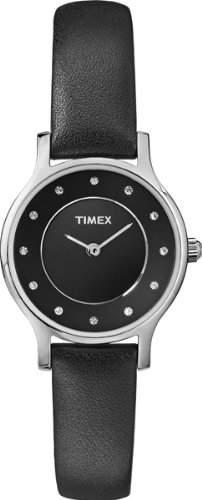 Timex Damen-Armbanduhr Analog Quarz Leder T2P314