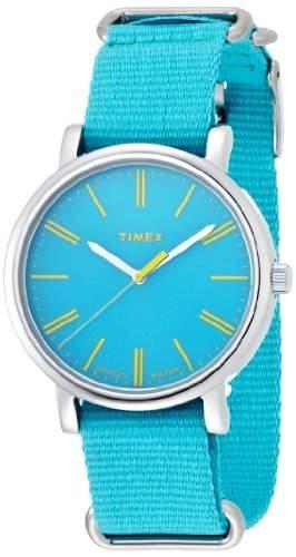 Timex Quarzuhr Originals 38 mm tuerkis