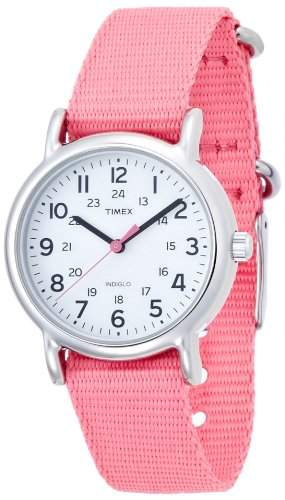 Timex Damen-Armbanduhr Analog Quarz Nylon T2P368PF