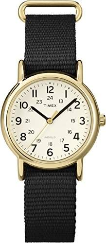 Timex Damen-Armbanduhr Analog Quarz Nylon T2P476