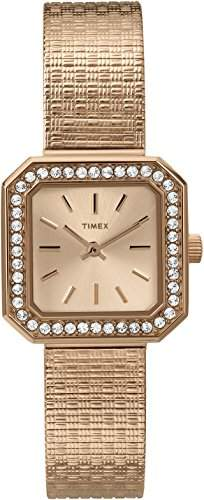 Timex Damen-Armbanduhr Classics Analog Quarz Gold T2P551