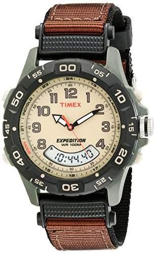 Timex Herren-Armbanduhr Chronograph Quarz Nylon T45181