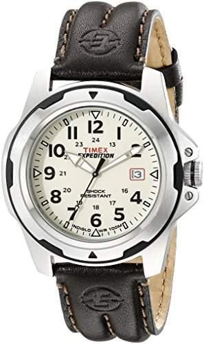 Timex Herren-Armbanduhr XL Analog Quarz T49261D7
