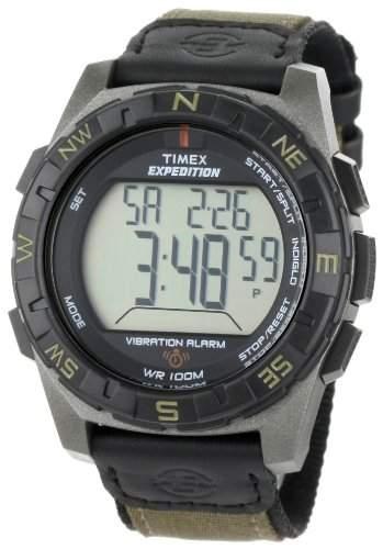 Timex Herren-Armbanduhr XL Outdoor Quartzuhren Digital Nylon T49854