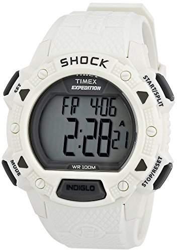 Timex Herren-Armbanduhr XL Full Pusher Shock CAT Digital Resin T49899