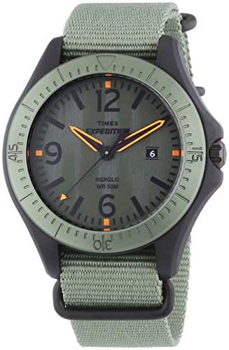 Timex Herren-Armbanduhr XL Expedition Analog Quarz Nylon T49931