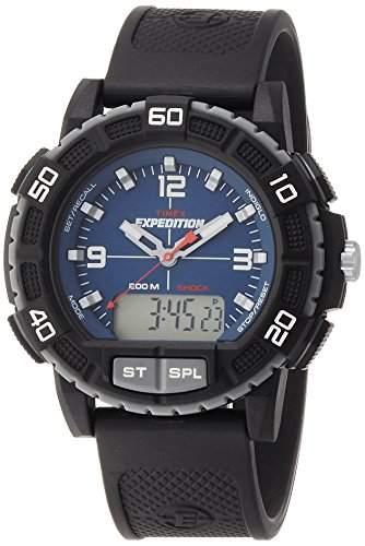 Timex Herren-Armbanduhr Analog - Digital Quarz Plastik T49968