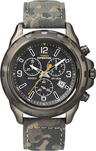 Timex Herren-Armbanduhr Expédition Rugged Chronograph Quarz T49987