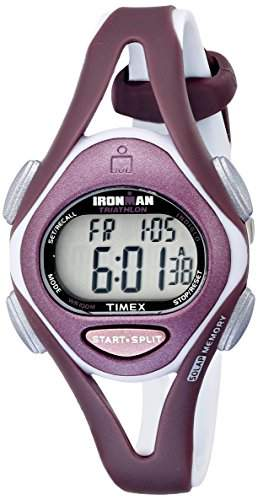 TIMEX IRONMAN WOMENS RESIN CASE CHRONOGRAPH PURPLE RESIN UHR T5K007