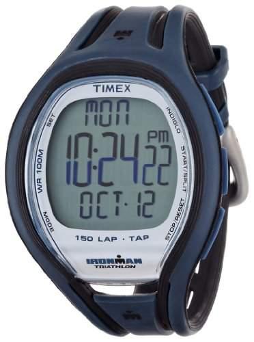 Timex Herren-Armbanduhr Ironman Sleek 150 LAP Digital Kautschuk 6605K251