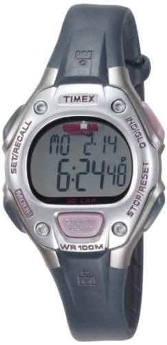 Timex Damen-Armbanduhr XS Ironman 30 LAP Digital Kautschuk T5K411