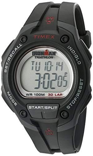 Timex Herren-Armbanduhr XL Ironman 30 Lap Digital Plastik T5K417SU