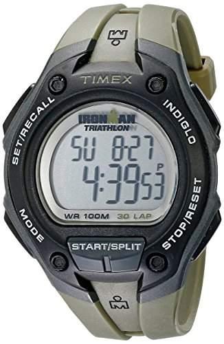 Timex Herren-Armbanduhr XL Ironman 30 Lap Digital Plastik T5K418