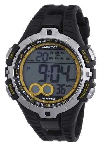 Timex Herren-Armbanduhr Marathon Lap Timer Digital Quarz T5K421
