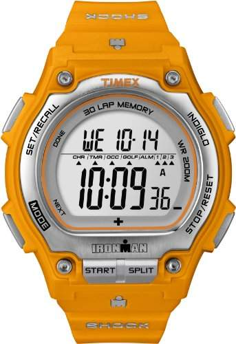 Timex Herren-Armbanduhr XL Ironman Shock Resistant 30 Lao Digital Plastik T5K585