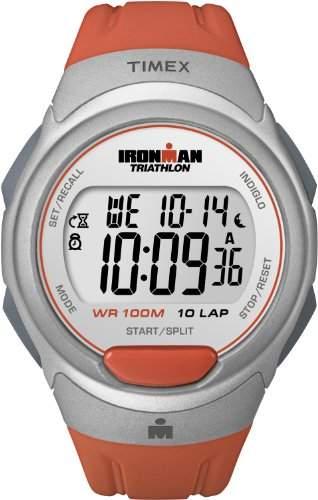 Timex Sport & Outdoor Unisex-Armbanduhr Digital Resin Orange T5K611SU