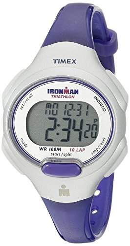 TIMEX IRONMAN 10 LAP MID SIZE WATCH BLUE SILVER