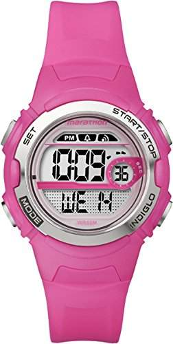 Timex Maedchen-Armbanduhr Marathon By Timex Digital Digital Quarz Plastik T5K771