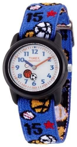 Timex Classic Jungen-Armbanduhr Timex Classic Kinder Analoguhren Analog Textil T75201