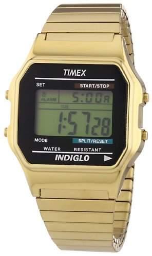 Timex Unisex-Armbanduhr Digital Edelstahl beschichtet T78677
