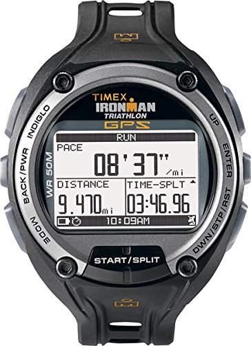 Timex Herren-Armbanduhr XL Ironman Global Trainer Digital Kautschuk T5K267