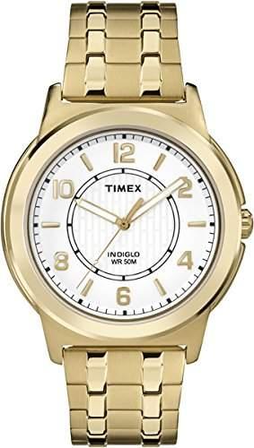 Timex Herren-Armbanduhr Analog Quarz Edelstahl TW2P62000