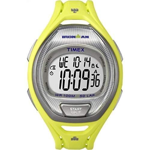 Timex Unisex-Armbanduhr IRONMAN Sleek 50 Full-Size Digital Quarz Plastik TW5K96100
