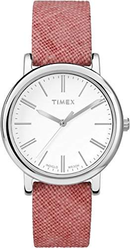 Timex Damen-Armbanduhr Analog Quarz Textil TW2P63600
