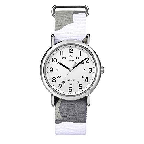 Timex Armbanduhr Uhren Weekender Indiglo Camouflage