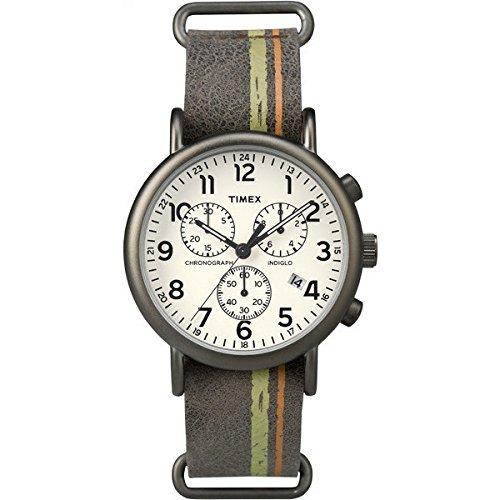 Timex Chronograph fuer Herren Weekender Chrono tw2p78000 Trend Cod tw2p78000